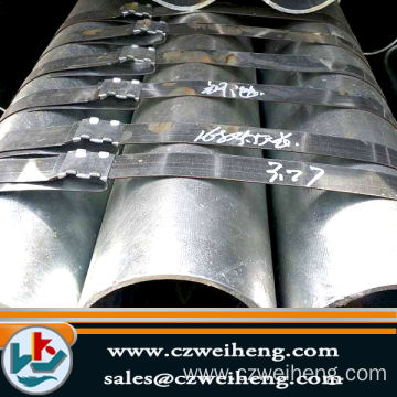 q345b hrp erw welded hot rolled carbon steel pipe manufacturer
