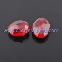 DF314 rote Farbe Maschine schneiden Fashion Glasperle