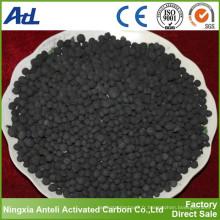charbon actif à base de charbon pulvérulent pour la désulfuration