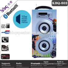 High fidelity superior quality sound colorful MP3 music house speakers