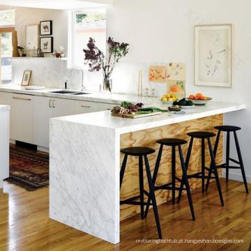 Ilha da mesa de cozinha, mesa de cozinha de superfície contínua de Eco, ilha de cozinha de pedra acrílica