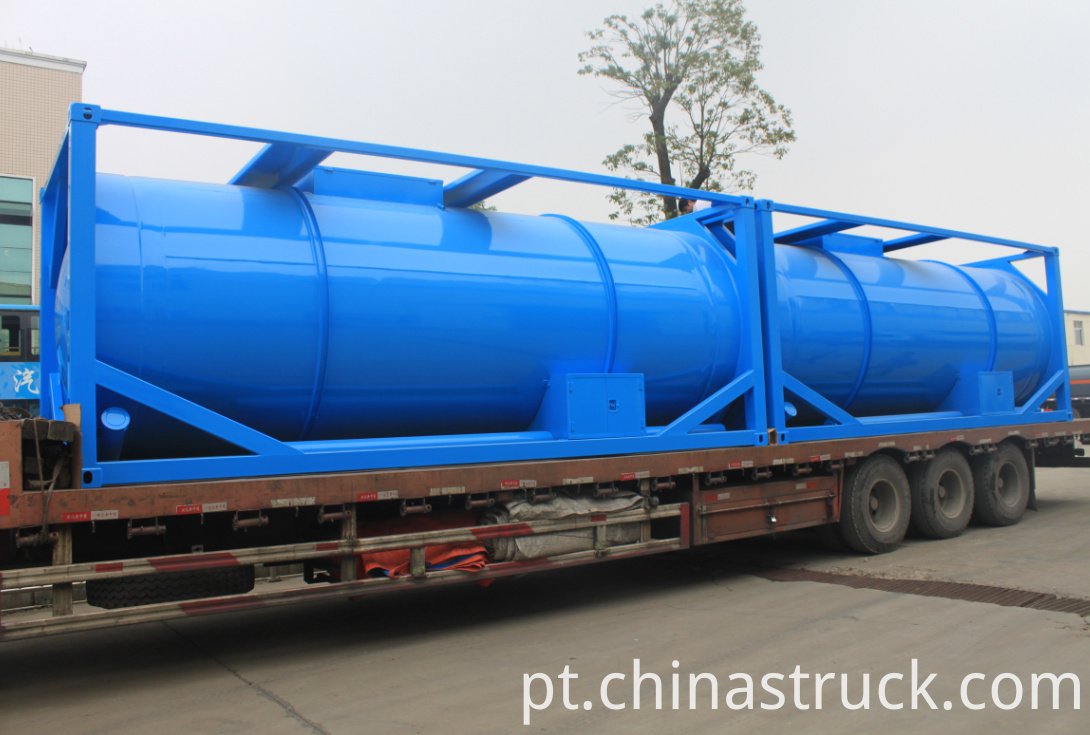 24000 liters waste water tank container 20FT
