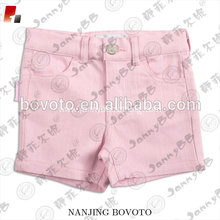 wholesale kids clothing pink girls tight shorts