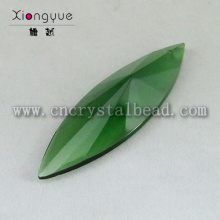 DD28 Green Crystal Oval Prisms
