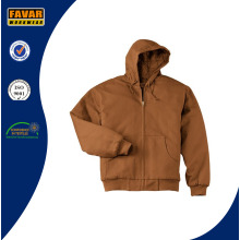 100% Cotton Canvas Hooded Work Jacket Mens