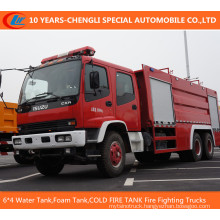 6*4 Fire Fighting Trucks (Water Tank, Foam Tank, Dry power)