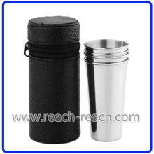 Из нержавеющей стали чашки набор матч фляга (R-HF052)