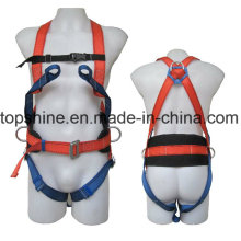 Newest Security Industrial Polyester Adjustable Professional Full-Body Harness Safety Belt