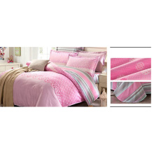 Juego de cama de diseño clásico Juego de edredón de algodón 100% F1736