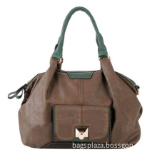 Ancient Style Lady Tote Bags, Popular Lady Leather Handbag (HD21-055)