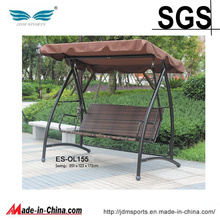 Cadeira de suspensão do ovo da mobília do pátio do Rattan do jardim para a venda (ES-OL155)