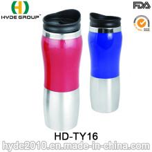Tasse de café thermique de double paroi en acier inoxydable