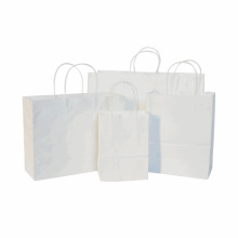 custom logo china supplier products white paper bag