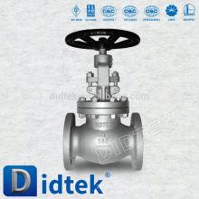 Didtek Cast Steel WCB Flange End Globe Valve China Manufacturer