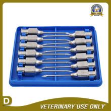 Aiguille d'injection de métal pour vétérinaire (TS)