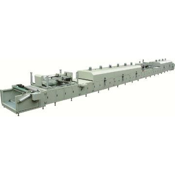 Porzellan Fabrik Preis Qualität einzigen CP-NW121101 automatische Rolle zu rollen Vlies-Siebdruckmaschine