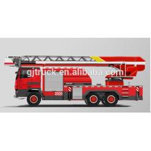 Camión de bomberos de la escalera de los 32m con la función mutipile