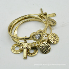 VAGULA Gold plattiert Mode Charms Armband-Sets E10778