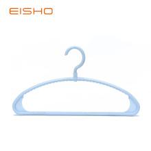 EISHO Blue Plastic Tubular Coat Hangers