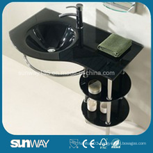 Hangzhou Tempered Glass Wash Basin Bath Furniture