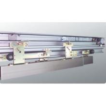 Operadores de porta automáticos telescópicos emoldurados de alumínio
