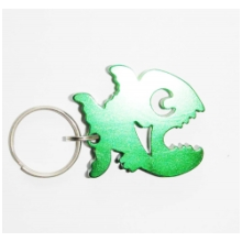 Hot Selling Aluminum Bottle Opener Keyring