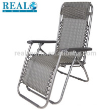Travel Lightweight Folding Chair For Camping Zero Gravity Folding Chair With Handle Aluminum Frame