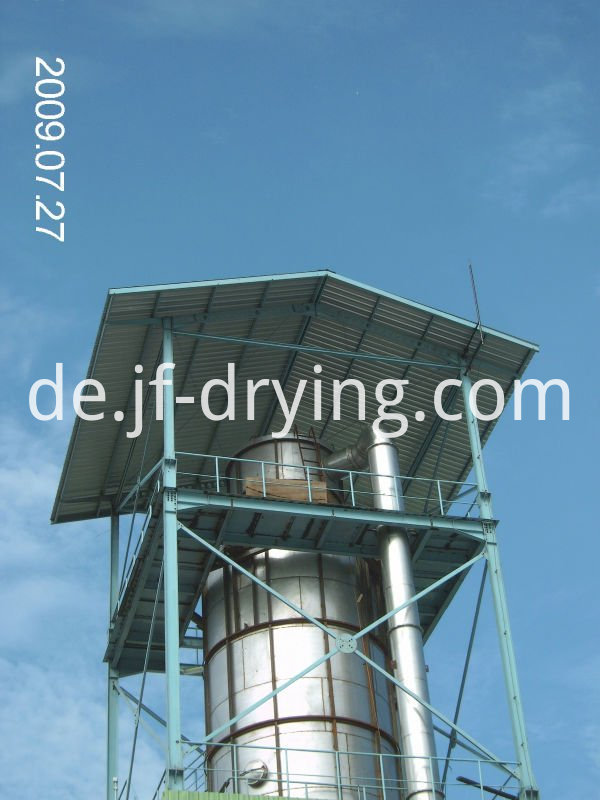 Pressure spray dryer machine