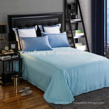 Alibaba fournisseur d'or à longues feuilles de coton drap plat Pas cher en gros bule drap plat à feuilles d'armure