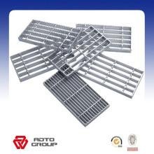 Panel de piso de rejilla galvanizado galvanizado por inmersión en caliente