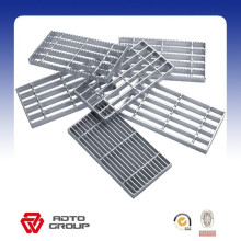 Panneau de plancher de râpage en métal expansé galvanisé plongé chaud
