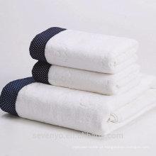 Conjunto de toalhas 100% algodão extra suave de alta qualidade
