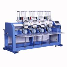 Elucky haute vitesse 15 aiguilles machine à broder informatisée prix 4 tête pour chapeau / t-shirt logo similaire à feiya et tajima