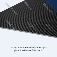 3K Twill / Plaine Mat / Brillant Full Fiber feuille de carbone pour FPV / Drone