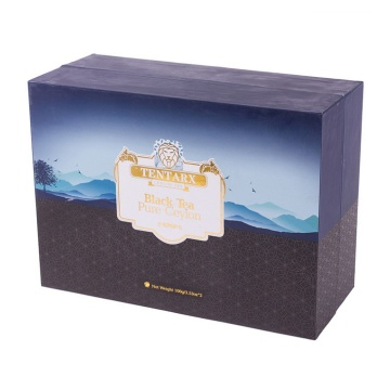 custom design clamshell gift box with ribbon