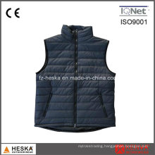 Men′s Down Padded Sleeveless Puffer Vest