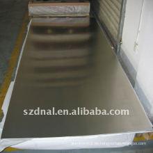 Aluminiumplatte aa6063 t6 verwendet in Antriebswellen in China hergestellt