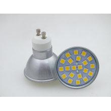 Novo GU10 21 PCS 5050 SMD 3W Lâmpada de ponto de alta potência LED Spot