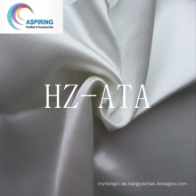 100% Polyester 100GSM 160cm Satin Stoff