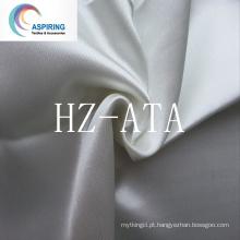 Tecido de cetim 100% poliéster para forro de vestuário