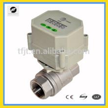 Robinet électrique à clapet chaud avec carte prépayée pour système CVC et chauffage
