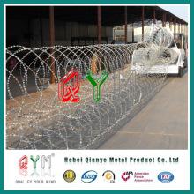 Parede de segurança militar / defesa do exército Barreira de parede da lâmina
