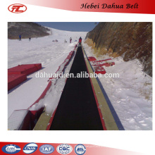 DHT-112 cold resistant rubber conveyor belts for cold open area