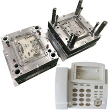 precision injecting pieces molding electronic shell plastic injection mold custom office phone case mould