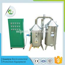best price hot sale waste water engine oil brackish water distillation equipment plant to desel