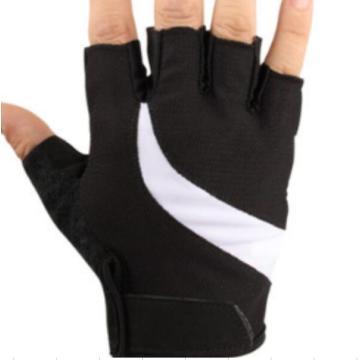 Nuovo tessuto Soft mesh Confortevole guanti a 4 dita con mezza dita
