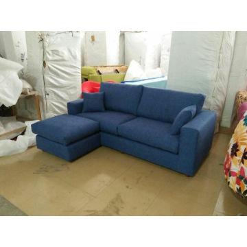 Blue Color Fabric Sofa, Modern Sofa, Home Furniture (S055)