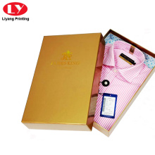 cardboard glossy shirt paper packaging box