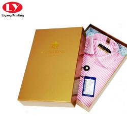 cardboard glossy shirt paper packaging box