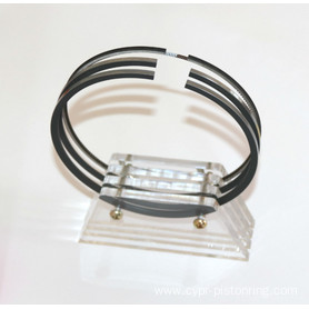 Gas engine piston ring